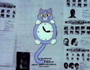 MB410 cat clock