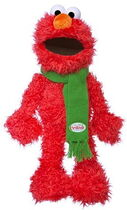 Sesame place plush christmas elmo 16