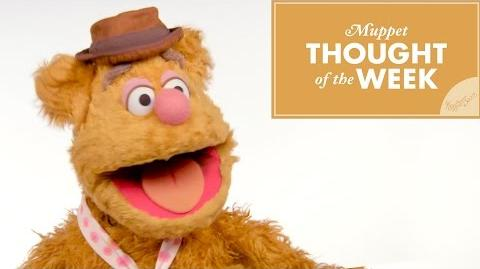 Fozzie Bear Muppet Thought of the Week The Muppets-0