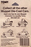 Tomy muppet die-cast cars package