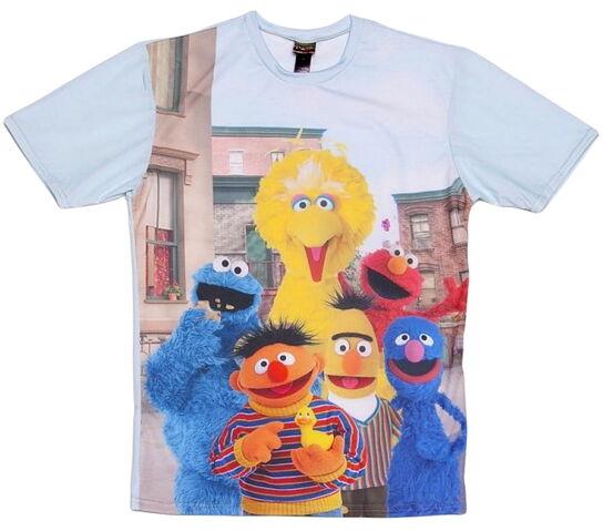 File:Mr gugu and miss go truffleshuffle t-shirt character print.jpg