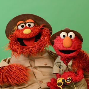 Elmo-and-Murray-as-Park-Rangers