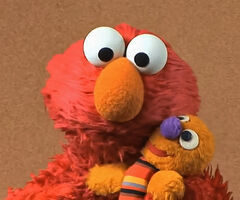 Elmo and Baby David