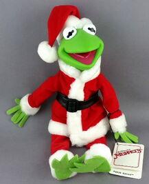 Kermit santa