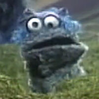 Cookie Monster's Sister