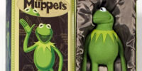 Kermit the Frog photo puppet replica