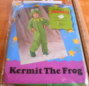 Disguise inc 1991 kermit costume