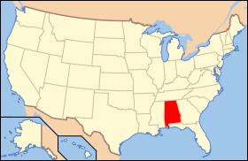 Map of USA AL svg