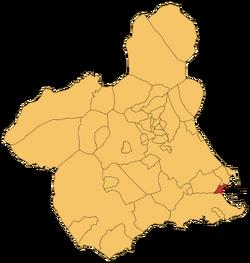 Los Arcázares en la Rigión e Murcia