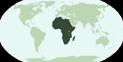 LocalizaciónÁfrica