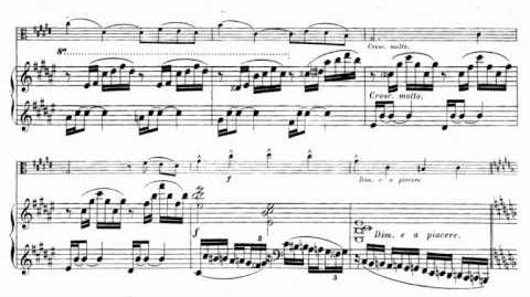 Louis Vierne, Deux pièces pour alto op. 5 - I