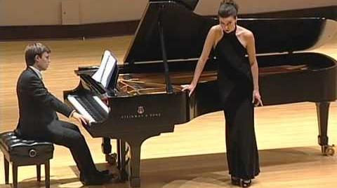 Ambur Braid, Bolcom Cabaret Songs - Tootbrush time, Waitin', Over the Piano