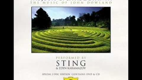 Flow, my tears - John Dowland (performed by Sting & Edin Karamazov)