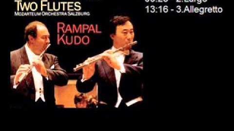 D. Cimarosa - Concerto per 2 flauti e orchestra - Rampal Kudo - Mozarteum Orchestra Salzburg