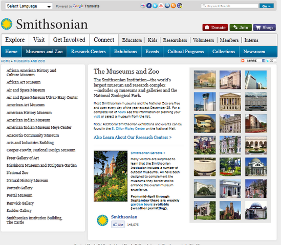 File:Smithsonian homepage.png