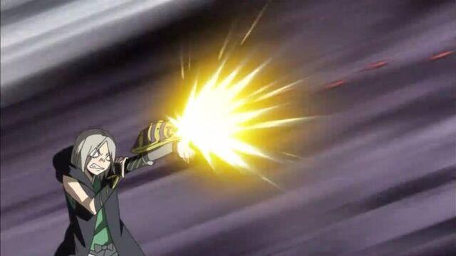 File:Kuroganemaru uses his crimson piercing rounds.jpg