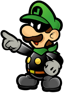 Mr. L Artwork (Super Paper Mario)