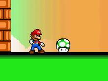 1-Up And Mario