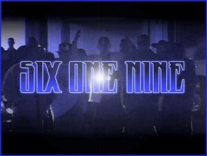 Six One Nine Official Logo