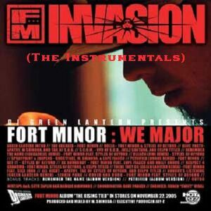 Custom CD Cover - Fort Minor- We Major (Instrumentals)