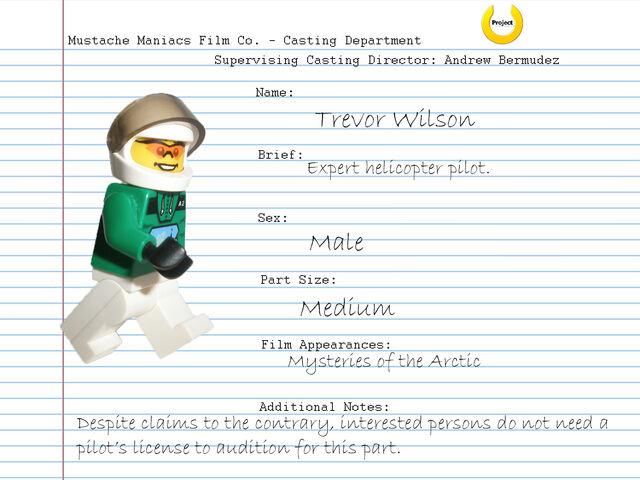 File:Audition Sheet - Trevor Wilson.jpg