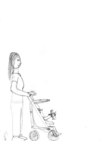 File:Mom and Stroller.jpg