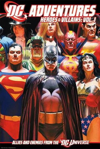 File:DC ADVENTURES Heroes & Villains, Vol. 1 cover.jpg