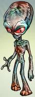 Bronze Alien