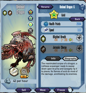 Gold-undead-dragon