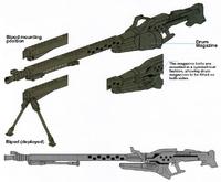 Squad support gun
