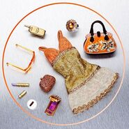My Scene My Bling Bling Chelsea Outfit and Accessories