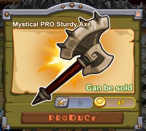 Mystical PRO Sturdy Axe
