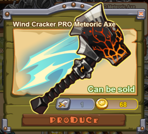Wind Cracker PRO Meteoric Axe