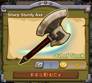 Sharp Sturdy Axe