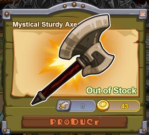 Mystical Sturdy Axe