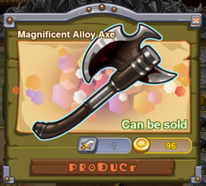 Magnificent Alloy Axe