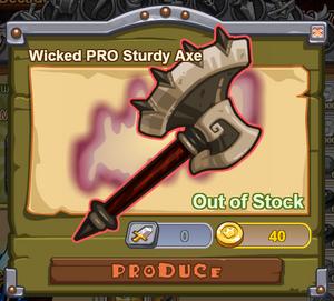 Wicked PRO Sturdy Axe