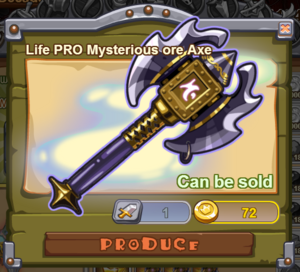 Life PRO Mysterious Ore Axe