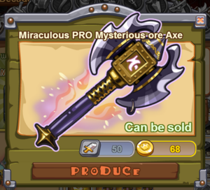 Miraculous PRO Mysterious Ore Axe