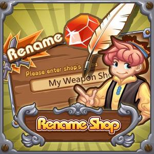 Rename Shop Update