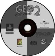 Geo Adventure 2 PS1 disc Greatest Hits