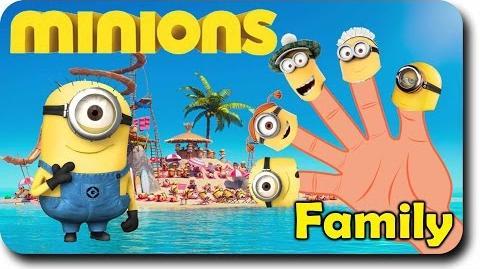 Finger Family Minion Family Despicable Me Finger Family Rhymes For Children