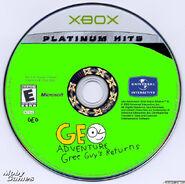 Geo Adventure Gree Guy's Returns XBOX Plantinum Hits Disc