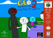 Geo Adventure 3 N64 cover NTSC