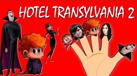 HOTEL TRANSYLVANIA 2 Finger Family Nursery Rhymes for Childrens