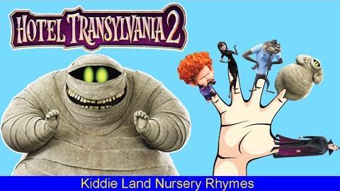 HOTEL TRANSYLVANIA 2 Finger Family Nursery Rhymes Finger Family Songs Daddy Finger-1