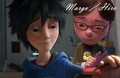 Hiro hamada and margo from despicable me by xabeautifuldream-d8ypk3g