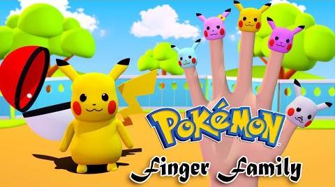 Pokemon Pikachu Finger Family Nursery Rhymes 3D Animation In HD From Binggo Channel