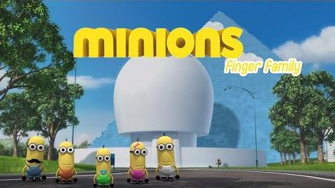 Minions 3D Finger Family Nursery Rhymes Five Finger Channel