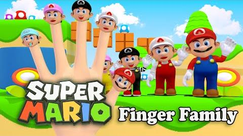 Super Mario Bros Finger Family Nursery Rhymes 3D Animation In HD From Binggo Nursery Rhymes